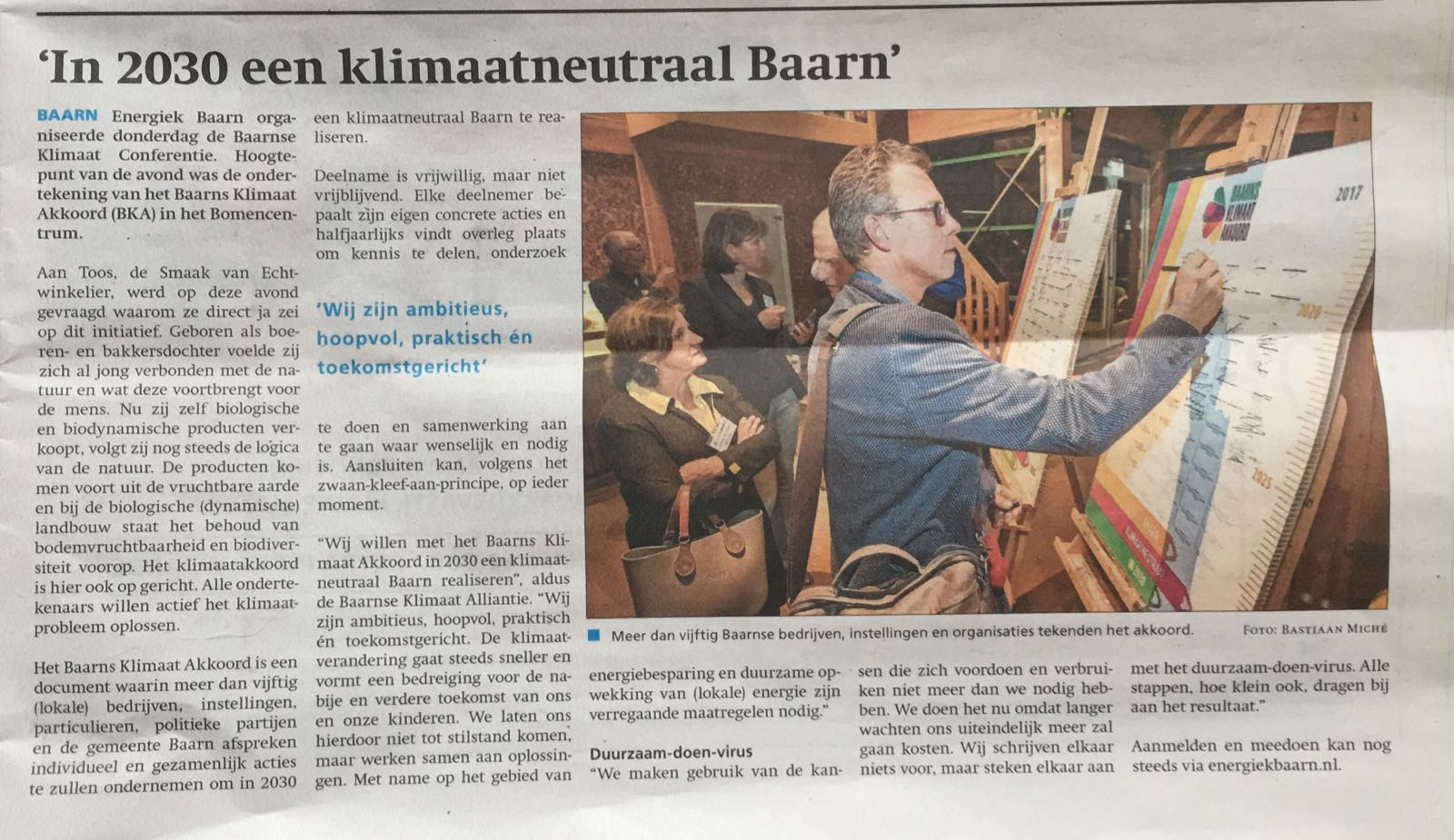 Baarns Weekblad 09-11-2017
